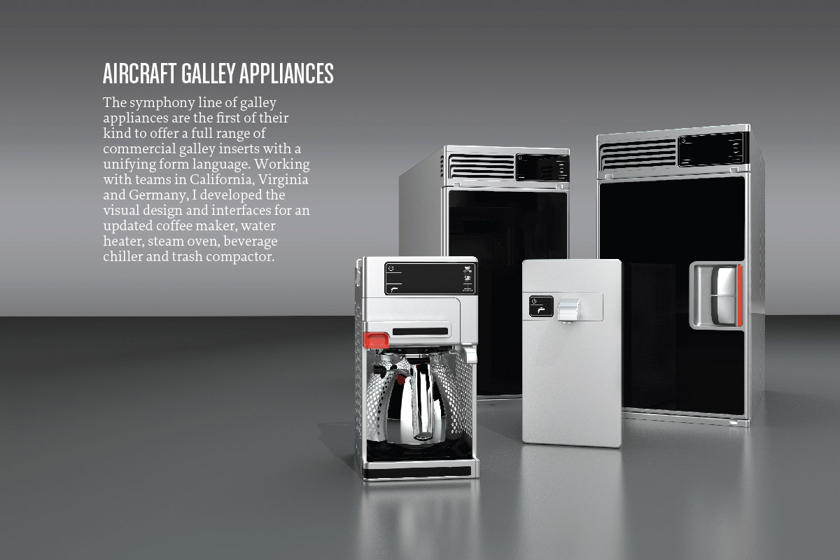 Aircraft Galley Appliances Zoe Pinfold Design